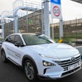 Hyundai demonstrates self-driving fuel cell electric vehicles