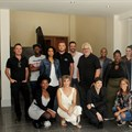 January judges (Back L-R) Charles Foley, Kabelo Moshapalo, Vanessa Moodley, Paul de Klerk, Jonathan Bain, Rob Mclennan, Tlamelo, Portia Mamosebo, Laura Maggs - Front (L-R) Aisha O'Reilly, Brinke van Zyl, Annette de Klerk.