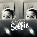 Pfeiffer behind the selfie, behind the screen.