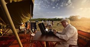 Peter Hayward (owner) and Celia du Preez (production executive), Hayward's Grand Safaris.