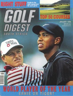 Golf Digest, January 1998, first course ranking issue