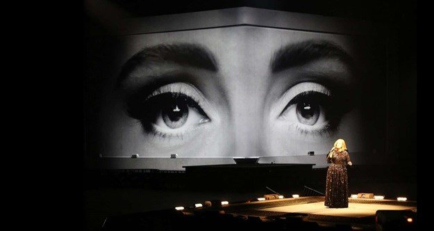 Adele's World Arena Tour. © image from the .