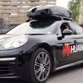 Huawei's AI-powered smartphone drives a Porsche