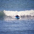Surf's up for Loyiso while participating in the LeaderSurf programme.