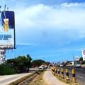 'Frozen' billboard for Castle Lite Draught.