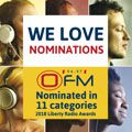 OFM receives 11 nominations in annual radio awards
