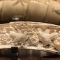 Antique ivory – defined as pre-1947 worked ivory – is an exception and can be traded in the UK and EU. Flickr/James Picht