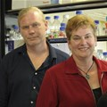 Professor Reinout Meijboom, head of the Department of Chemistry and Professor Marianne Cronjé, head of the Department of Biochemistry at the University of Johannesburg