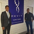DR Shaheen Kader, owner of the Cape Town branch with CEO of Reviv South Africa and owner of the Joburg branch, Sayed Mia. © African Star Communications.