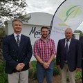 Gerhard Kriel (left), Chief Executive Officer of Free State Agriculture (FSA), Andries Vermeulen, official ambassador of Friends of Free State Agriculture, Francois Wilken, President of FSA, and Tommie Esterhuyse, Vice President of FSA. Photo: Free State Agriculture