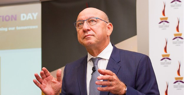 Trevor Manuel, chairman of Old Mutual Group Holdings