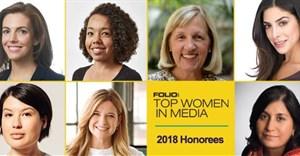 Folio: 2018 class of Top Women in Media. © .