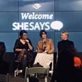 She Says NYC discussion with Kari Niles, Barbara Thall, Silvia Cavalcanti, and Jesse Baker. © .