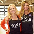 Marissa Allen (left) at the Wpromote Rise event.