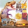 AR technology brings dinosaurs to life with the new BK Dino Cards
