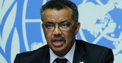 Dr Tedros Adhanom Ghebreyesus, director general at the WHO