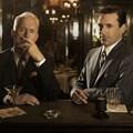 Mad Men's Roger Sterling (John Slattery) and Don Draper (Jon Hamm). © AMC.