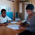 Thabdokazi Mkwena, an ECD practitioner at Luvuyo Special Needs Centre achieved her NQF Level two qualification at the end of last year, she will also receive ongoing mentorship and coaching, ensuring that the knowledge and skills that they have gained from the training is applied in the classroom.