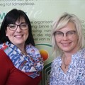 Agri SA head of land affairs, Annelize Crosby (right), and head of Labour and development, Jahni de Villiers. (Image supplied)