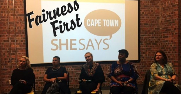 The ladies of the first ever SheSays Cape Town panel. Image: ©