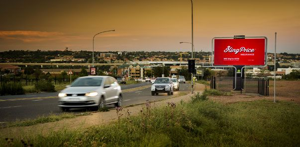 Outdoor Network gets heads turning in Centurion with their new digital billboard