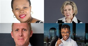 Top to bottom, left to right: cluster 2 chief judge, Thabisile Phumo – Sibanye Eyezwe; cluster 5 chief judge, Vicki St Quintin, corporate and healthcare consultant; cluster 7 chief judge, ByDesign founder – Kevin Welman; and cluster 3 young judge, Khangelani Dziba