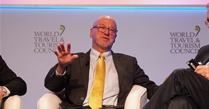World Travel & Tourism Council via  - Minister of Tourism, Derek Hanekom at the World Travel and Tourism Council's Global Summit in Buenos Aires.