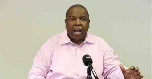 Suspended North West Province health head, Thabo Lekalakala. Photo: Semphete