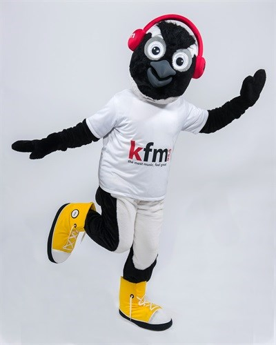 Hello... My name is: Kfm 94.5 launches mascot
