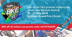 AutoTrader SA Bike Fest adds smoking new features