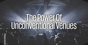 The power of unconventional venues