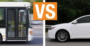 Public vs private transport