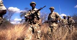 Kenya Wildlife Service rangers on patrol at the Meru National Park. Flickr/IFAW
