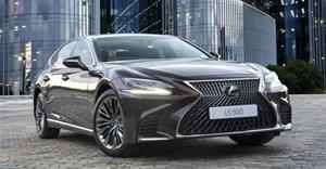 Lexus Luxury LS lands in SA