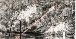 William Kentridge Deep Pool, from the series Colonial Landscape signed and dated '96; 120 by 160cm R3,000,000 - R4,000,000
