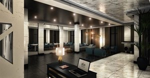 Image via  - Artists impression of the reception at BON Hotel Apo