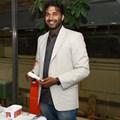 Biomedical engineering master's student, Gokul Nair. Photo: UCT