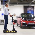 BMW has built five prototypes of its Personal Mover Concept so far.