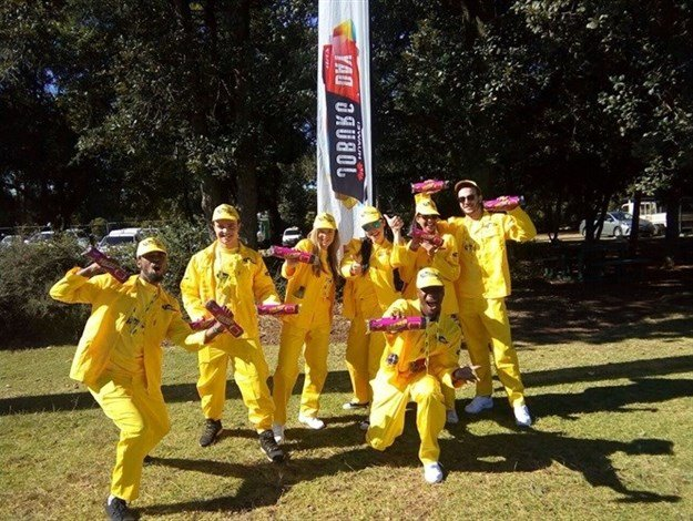 Red Cherry Interactive production team made it to the 947 Joburg Day
