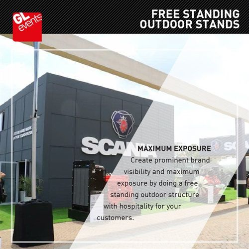 Free Standing Outdoor stand