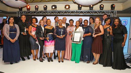 2017 Standard Bank Top Women Award Winners