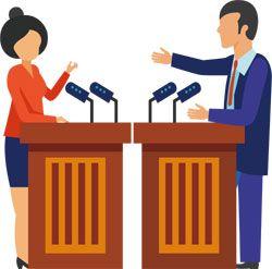 The candidate feedback debate