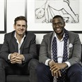Mike Sharman, Retroviral co-founder, CEO and chief creative strategist and Shaka Sisulu, entrepreneur and founder of digital and social media agency Plum. Image supplied.