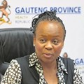Gauteng Health MEC, Dr Gwen Ramokgopa