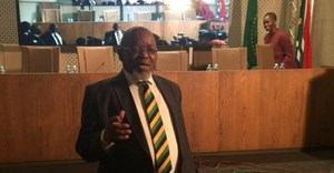 Mining minister, Gwede Mantashe. Photo: