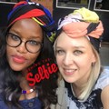 Vaulina, seen Showmaxing with Sbusi Dlamini, HR business partner: Connected video group at Multichoice.