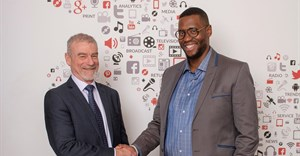 Terence Gregory, CEO of Ecsponent and entrepreneur and businessman, Shaka Sisulu. Image supplied.