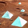 Erdem Architects proposes ice pyramids city for Mars