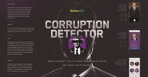 The 2018 Cannes Mobile Lions Grand Prix winner: Grey Brazil for Reclame Aqui's 'Corruption Detector'.