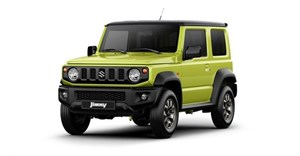 The new Suzuki Jimny looks like it should cross the road holding a G-Wagen's hand (Credit: Suzuki)